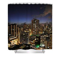 Honolulu Nights Shower Curtain