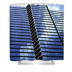 Honolulu Skyscraper Shower Curtain by Brandon Tabiolo - Printscapes