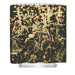 Honor Of The Fallen Shower Curtain