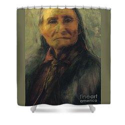 Honoring Geronimo Shower Curtain