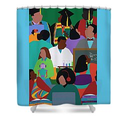 Honors Mindset Shower Curtain