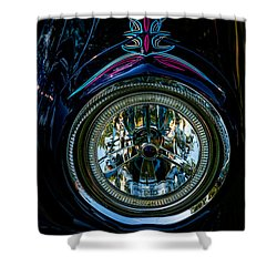 Hood Wink 55 Lincoln Shower Curtain