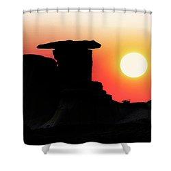 Hoodoo Sunrise Shower Curtain