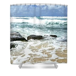 Ho'okipo Shower Curtain