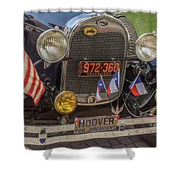 Hoover Era Ford Shower Curtain