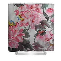 Hop08012015-691 Shower Curtain by Dongling Sun