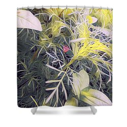 Hope Buds Shower Curtain