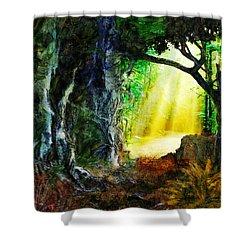 Shower Curtain featuring the digital art Hope by Francesa Miller