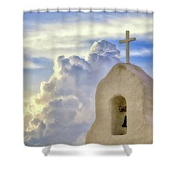 Shower Curtain featuring the photograph Hope In The Storm by Rick Furmanek