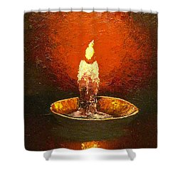 Hope Shower Curtain by Megan Walsh