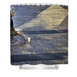 Hope On Champs-elysee Shower Curtain