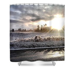 Hope  Shower Curtain by Rory Sagner