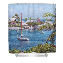 Hope Town Haven Shower Curtain