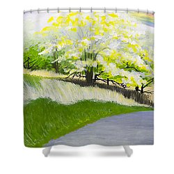 Hopeful Sojourn Shower Curtain