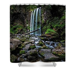 Hopetoun Falls Shower Curtain by Mark Lucey