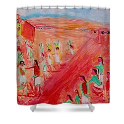 Hopi Indian Ritual Shower Curtain