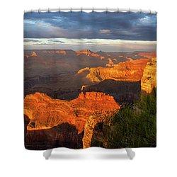 Hopi Point Sunset 1 Shower Curtain