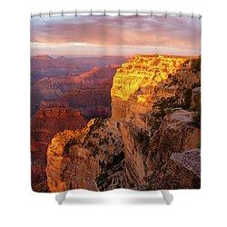 Hopi Point Sunset 2 Shower Curtain