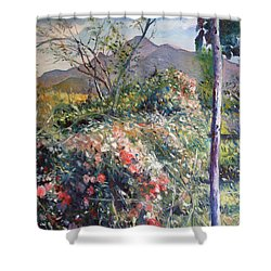 Horingberg Horn Mountain Eastern Cape South Africa Shower Curtain by Enver Larney