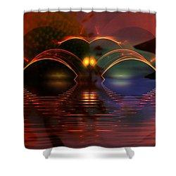 Horizens Shower Curtain