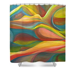 Horizon Peace Will Come Shower Curtain