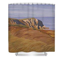 Horn Head Shower Curtain