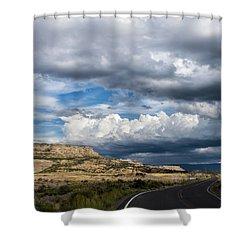 Horse Canyon By De Beque Colorado Shower Curtain
