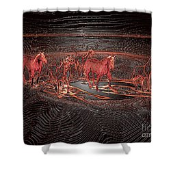 Horse Chestnut Pass Shower Curtain