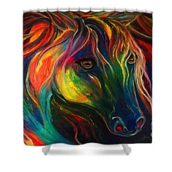 Horse Of Hope Shower Curtain