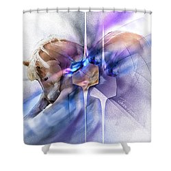 Horse Prayer Shower Curtain