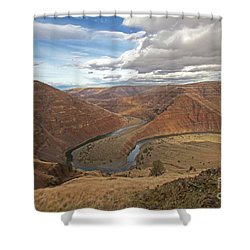 Horse Shoe Bend Shower Curtain