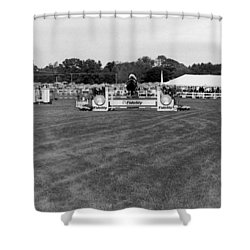 Horse Show  Shower Curtain