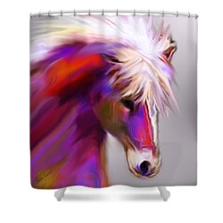 Horse True Colors Shower Curtain