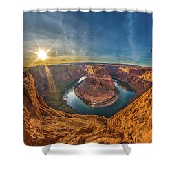 Horseshoe Bend Shower Curtain