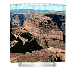 Horseshoe Bend Of The Colorado River Shower Curtain