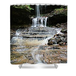 Horseshoe Falls #6735 Shower Curtain