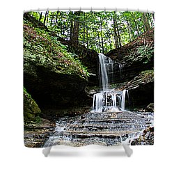 Horseshoe Falls #6736 Shower Curtain
