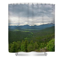 Horseshoe Park From Rainbow Curve 2 Shower Curtain