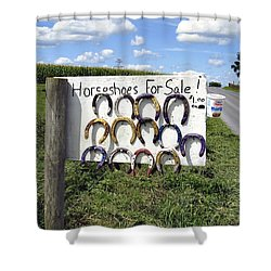 Horseshoes For Sale Shower Curtain