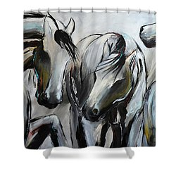 Horsin' Around Shower Curtain