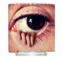 Host And Agent Shower Curtain