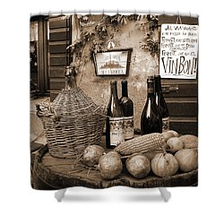 Hostaria Alla Rocca Shower Curtain