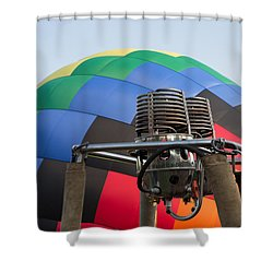 Hot Air Balloning Shower Curtain