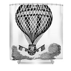 Hot Air Balloon Shower Curtain by Granger