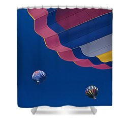 Hot Air Balloons Shower Curtain by Greg Vaughn - Printscapes