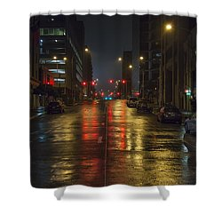 Hot Austin Shower Curtain