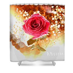 Hot Beauty Shower Curtain