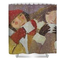 Hot Chocolate Shower Curtain