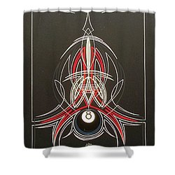 Hot Rod Life  Shower Curtain by Alan Johnson