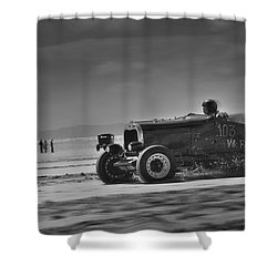 Hot Rods At Pendine 14 Shower Curtain